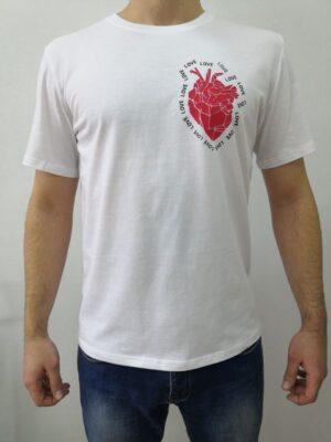 Футболка NOMO «Love in heart»